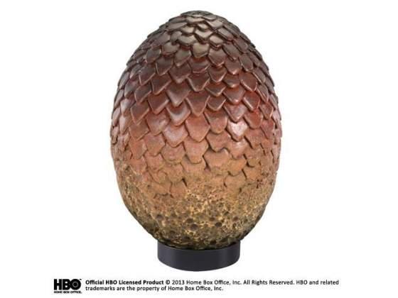 Game of thrones drogon egg statue