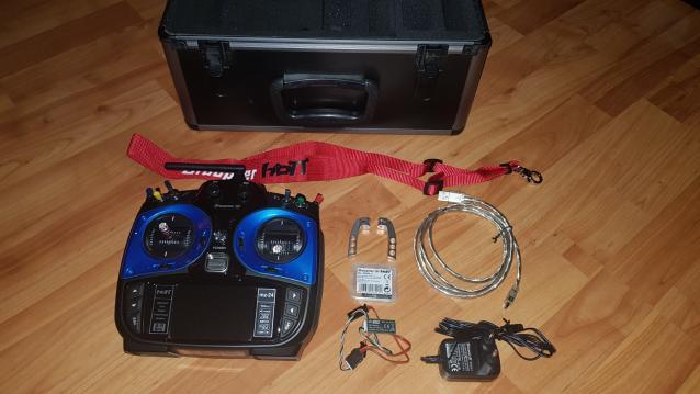 Radiocomando Graupner Mz 24 software PRO