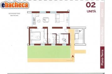 App. a Venezia di 54 mq