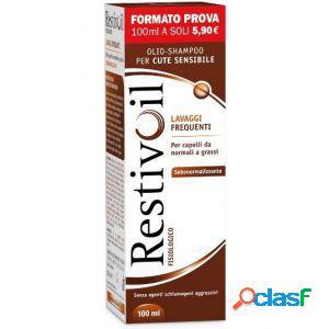 Restivoil fisiologico 100ml olio-shampoo per cute sensibile