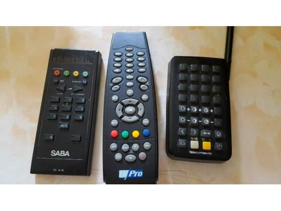 Telecomandi tv e decoder terrestre
