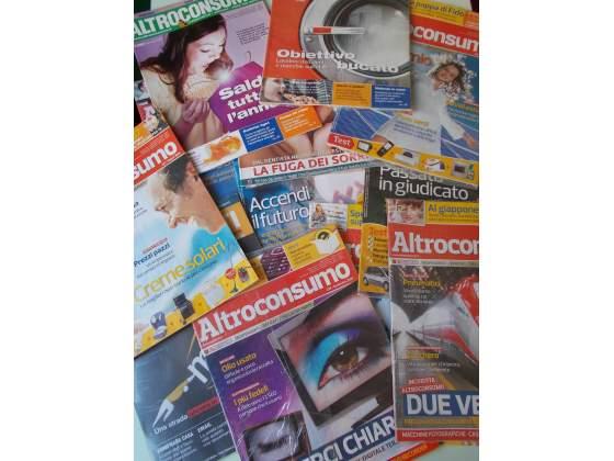 ALTROCONSUMO lotto 48 riviste nuove perfette