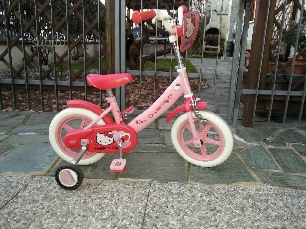 Bicicletta bambina di hello kitty