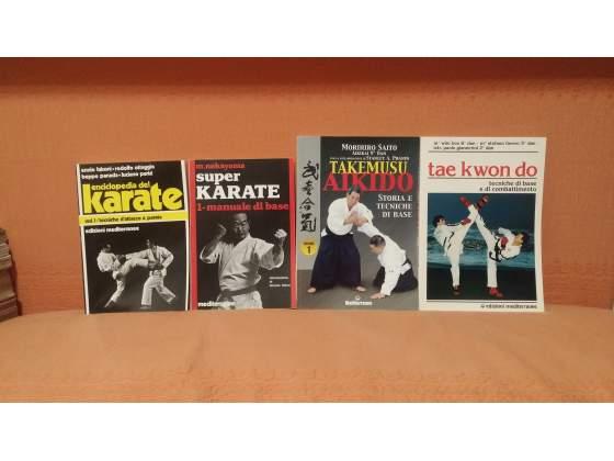 Libri di arti marziali e culturismo