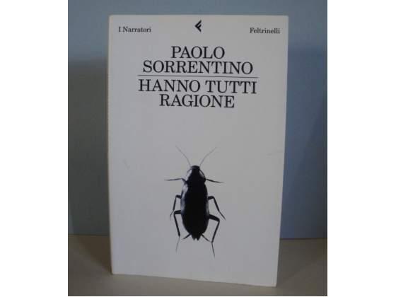"""Libro """"Hanno tutti ragione"""" di Paolo Sorrentino"""