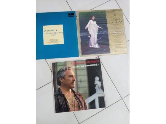 Lotto di 5 dischi 33 giri musica classica