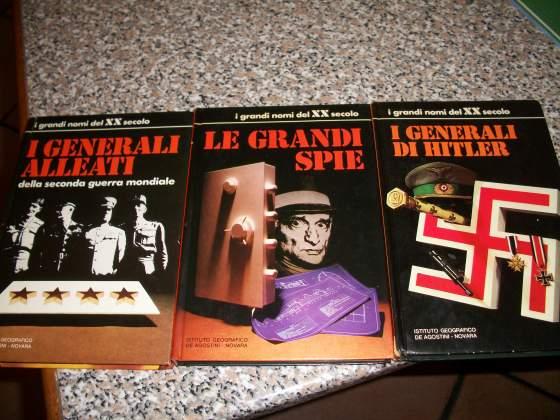 """Lotto di n.3 libri """" I GRANDI NOMI DEL XX SECOLO """""""