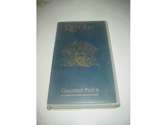 Queen vhs videocassetta film musicale video nastro cassetta