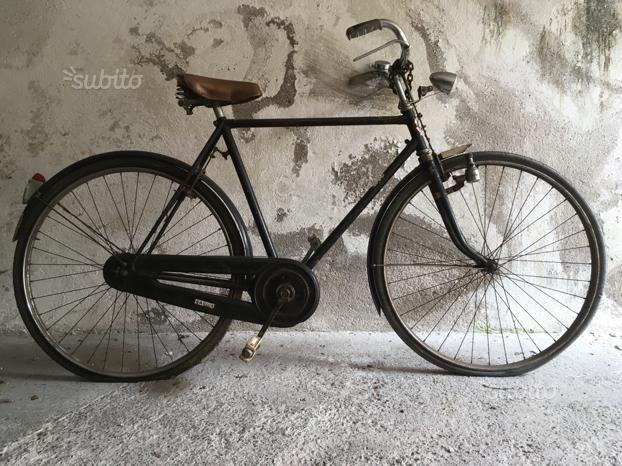 Vecchia Bicicletta Da Postino Mondial Posot Class