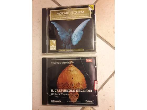Wagner Il Crepuscolo degli Dei, Mozart Requiem 2 cd