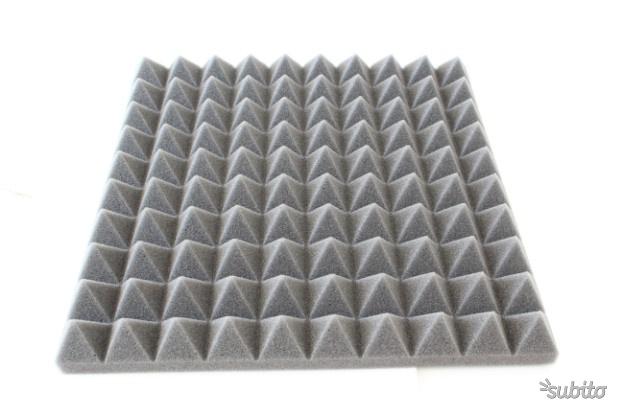 28 mq pannelli fonoassorbenti cm. 100x100x3 stock