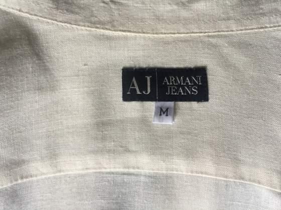 Camicia in lino Giorgio Armani M come nuova