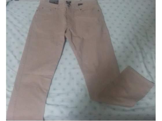 Pantalone h&m slim fit beige