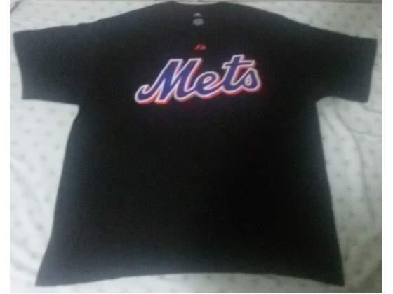 T-shirt majestic, ny mets (wright)