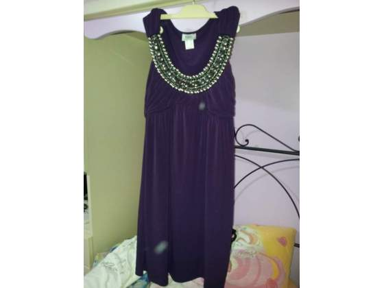 Vestito viola elegante