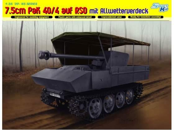 7.5Cm Pak 40/4 Auf Rso Mit Allwetterverdeck - Smart Kit