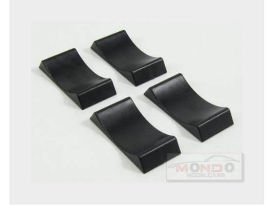 Accessories Set 4X Cuneo Blocca Ruote 4X Car Stoppers