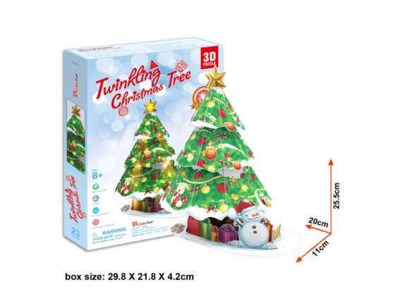 Albero Di Natale Kit 3D In Foam CubicFun CFP680H