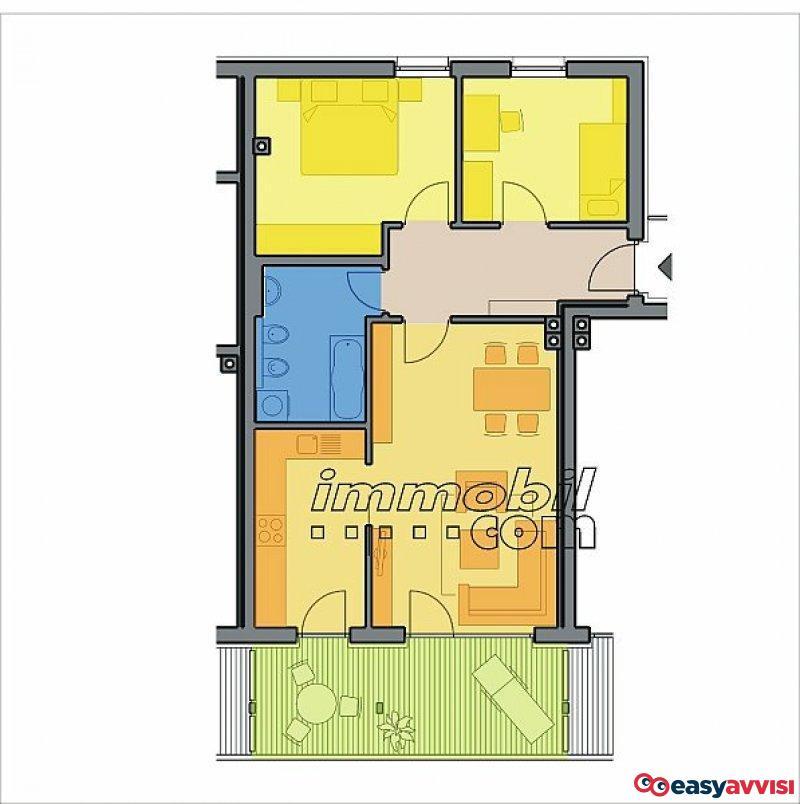 Appartamento trilocale 88 mq, provincia di bolzano alto