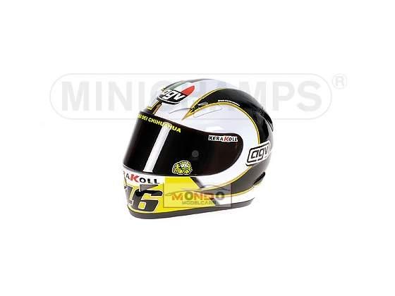 Casco Valentino Rossi  Minichamps 1:2
