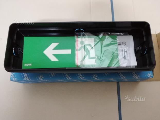 Cassetta scatola da incasso lampada di emergenza