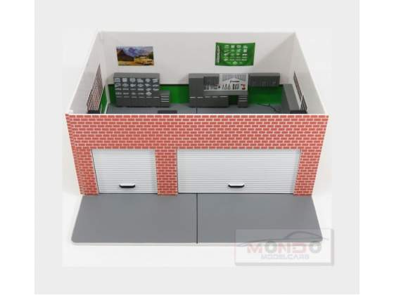 Diorama Set Officina Mechanic'S Corner  GREENLIGHT 1:64