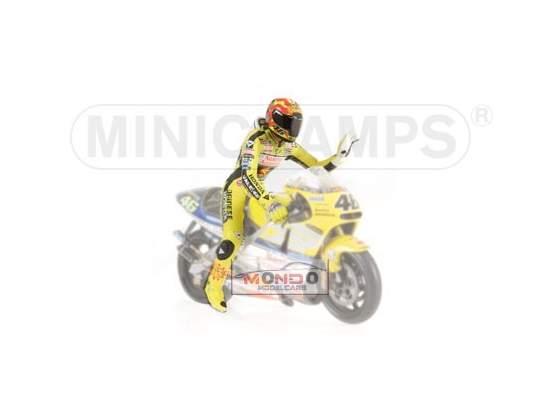 Pilota Valentino Rossi Minichamps 1:12  Modellino
