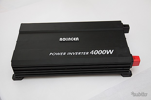 Power Inverter  W corrente a 220 v