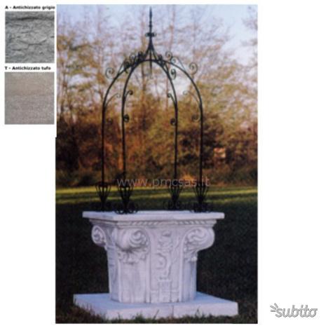 Pozzo decorativo giardino posot class for Pozzo da giardino decorativo