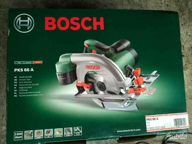 Sega Circolare Bosch PSK 66 A Nuova
