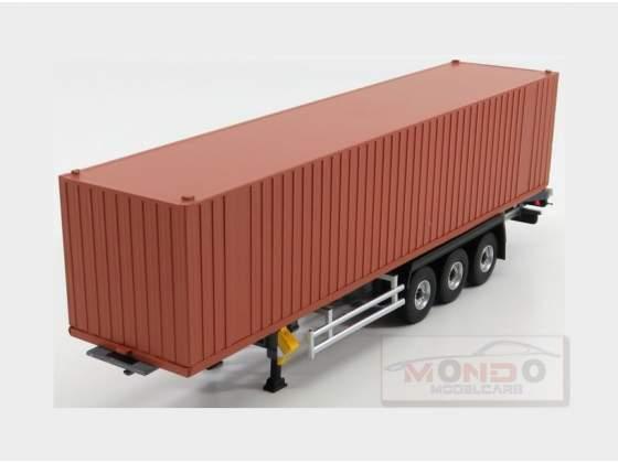 Trailer For Truck Rimorchio Trasporto Container Brown ELIGOR