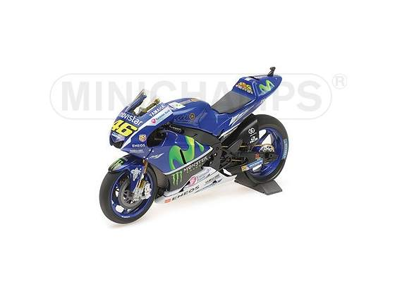 Yamaha Yzr-M1 Movistar Valentino Rossi Test Bike