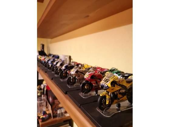 Collezione completa delle moto di Valentino Rossi