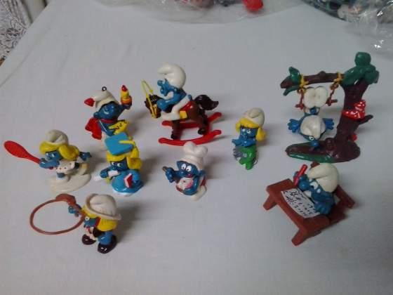 Lotto collezione di Puffi originali vintage anni '