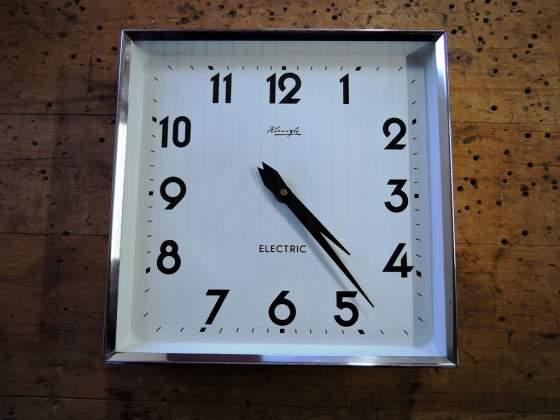 Orologio ufficio industriale muro parete KIENZLE