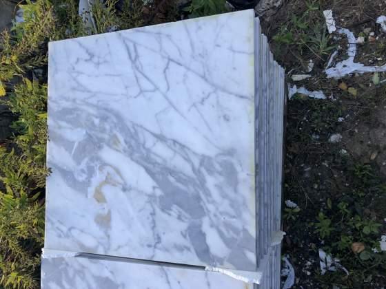 Piastrelle marmo bianco Carrara STOCK
