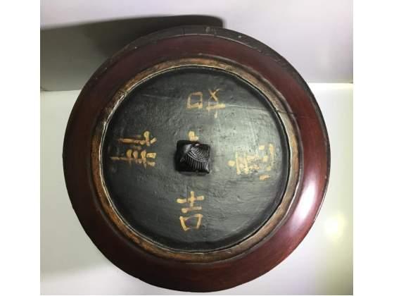 Vaso antico di Ji Xiang Ru Yi Cina marchio Tongzhi