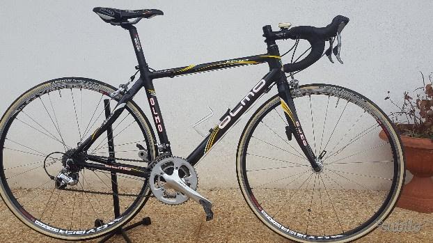 Bici corsa full carbonio olmo 10 velocità
