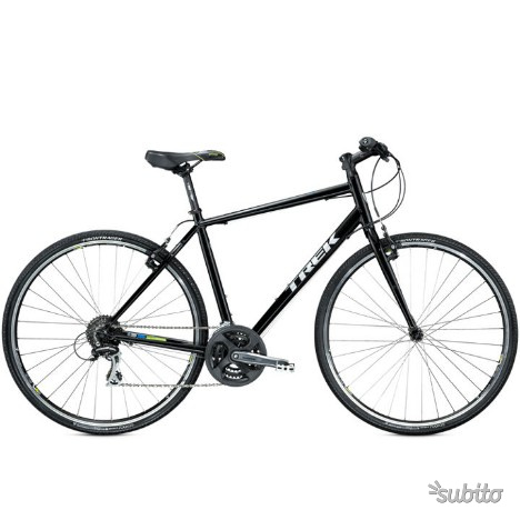 Bici trek 7.2 fx taglia 20 nero/verde