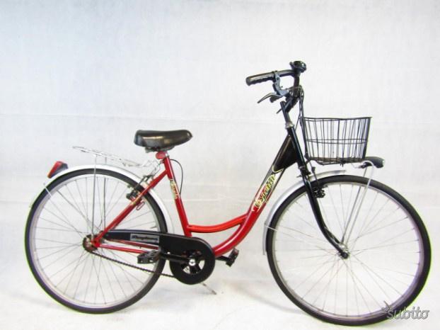 Bicicletta donna city bike 26