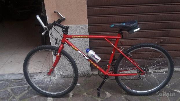 Biciclette di vario tipo e taglia
