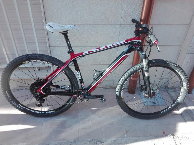 Cambio MTB 29 khs carbon con bici da corsa mis.54
