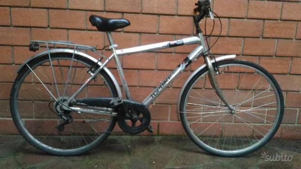 City bike uomo telaio alluminio ruote 28
