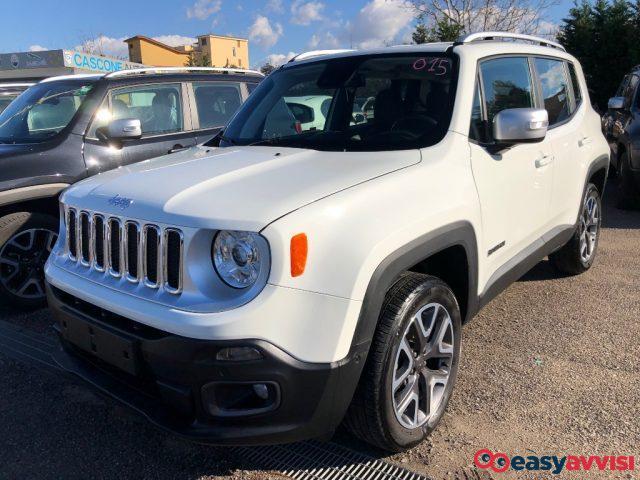 Jeep renegade 2.0 mjt 140cv 4wd limited con navigatore