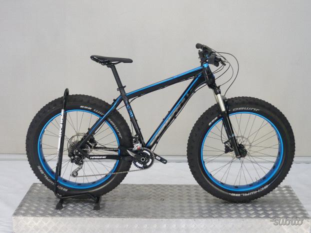 Mtb fat bike haibike fat curve alluminio