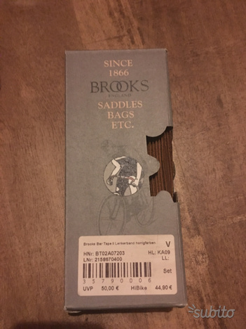 Nastro manubrio pelle Brooks