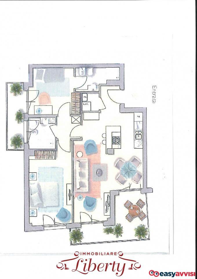 Appartamento trilocale 85 mq, provincia di lucca