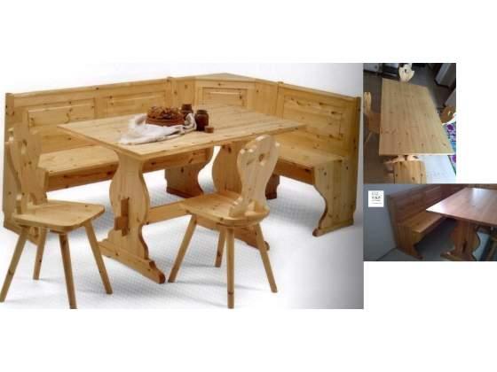 Giropanca per Pub in legno massello
