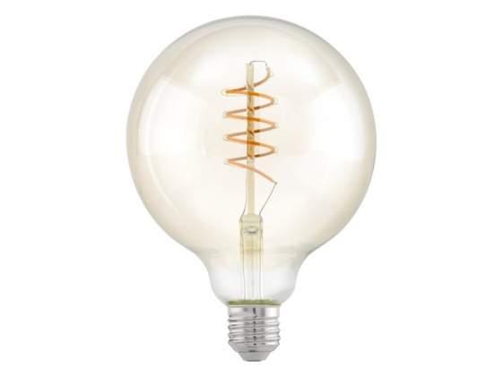 Lampada led filamento HV globo trasparente 4W/25 E27 luce
