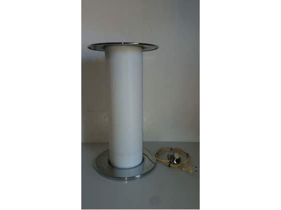 Lampada posacenere da terra space age design harvey guzzini